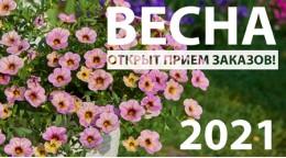 Сезон ВЕСНА-2021. Открыт прием заказов.